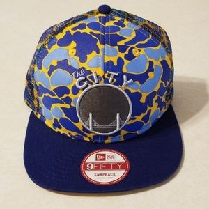 Golden State Warriors 'The City' Camo Snapback